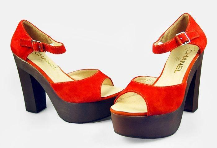 Женские туфли Chanel, китайская копия, модель 1. Женские туфли Chanel...